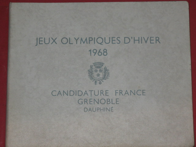 Jeux olympiques d'hiver 1968 candidature France Grenoble