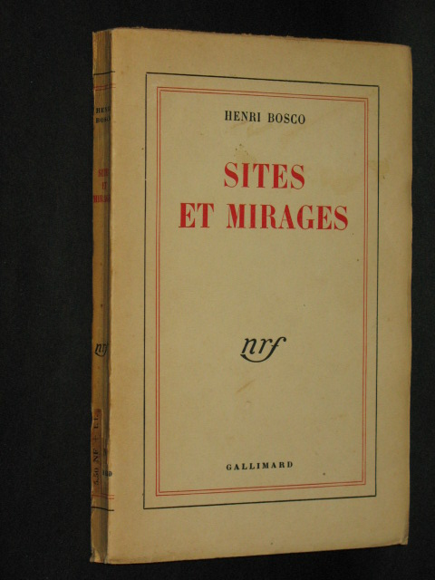 Sites et mirages