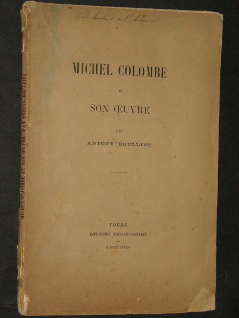Michel Colombe et son oeuvre